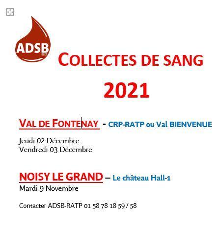 Collecte 2021